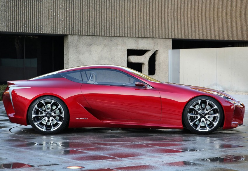 Lexus LF-LC Concept fully revealed, and it's spectacular! Image #83135