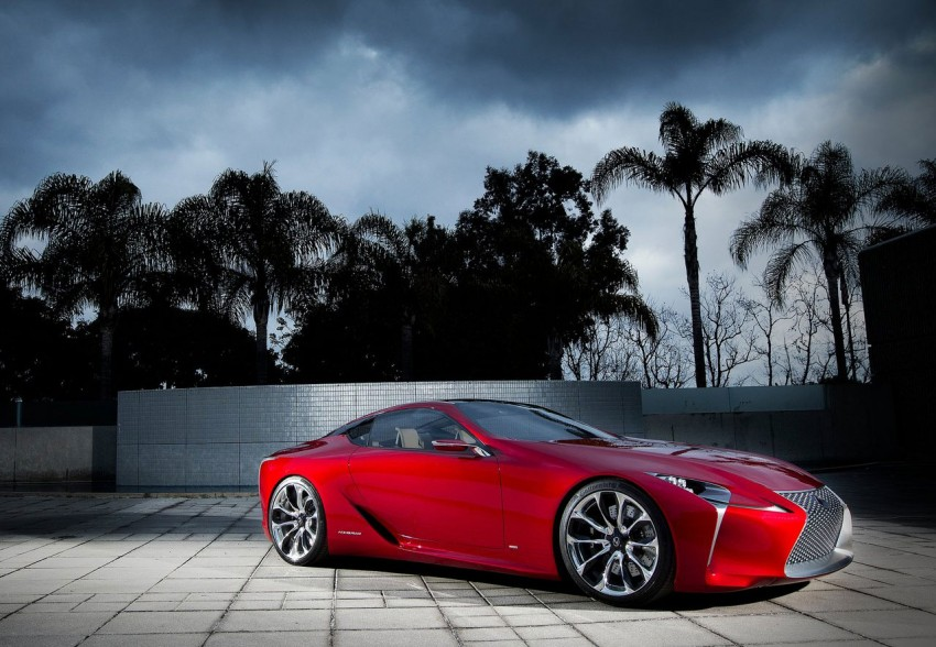 Lexus LF-LC Concept fully revealed, and it's spectacular! Image #83136