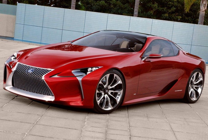 Lexus LF-LC Concept fully revealed, and it's spectacular! Image #83138