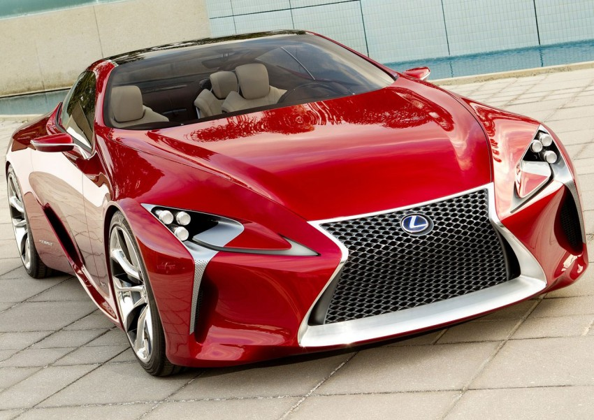 Lexus LF-LC Concept fully revealed, and it's spectacular! Image #83139