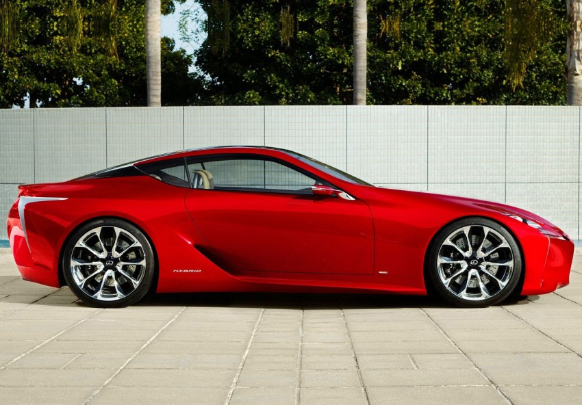 Lexus LF-LC Concept fully revealed, and it's spectacular! Image #83140