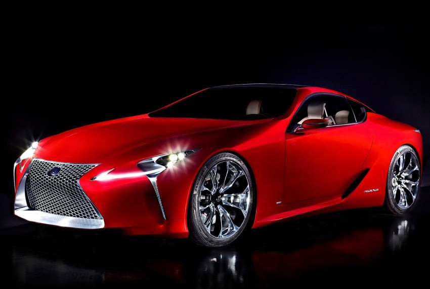Lexus LF-LC Concept fully revealed, and it's spectacular! Image #83142