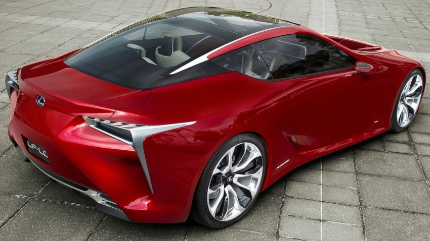 Lexus LF-LC Concept fully revealed, and it's spectacular! Image #83143