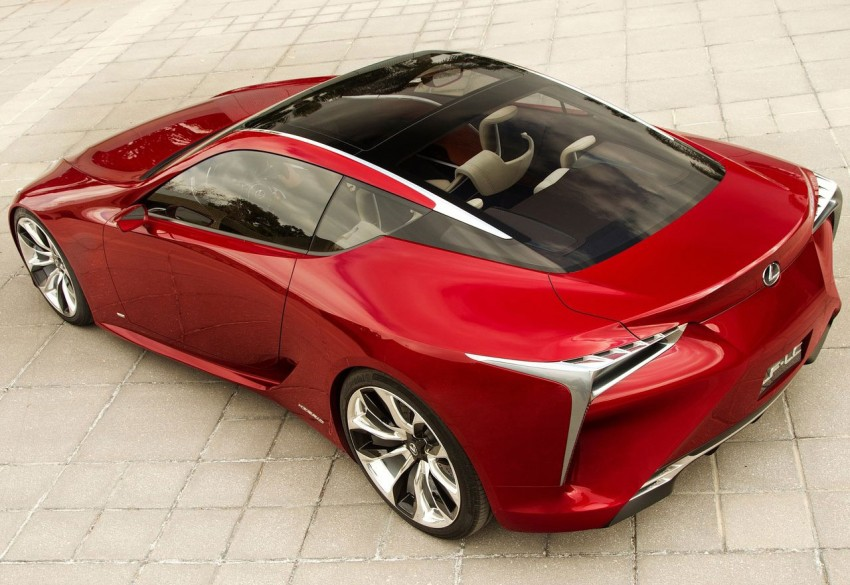 Lexus LF-LC Concept fully revealed, and it's spectacular! Image #83144