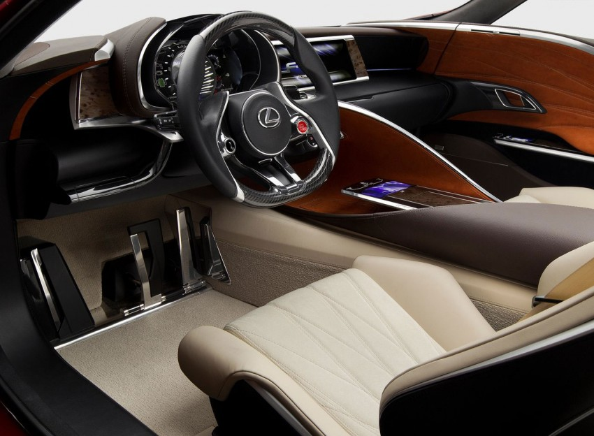 Lexus LF-LC Concept fully revealed, and it's spectacular! Image #83148