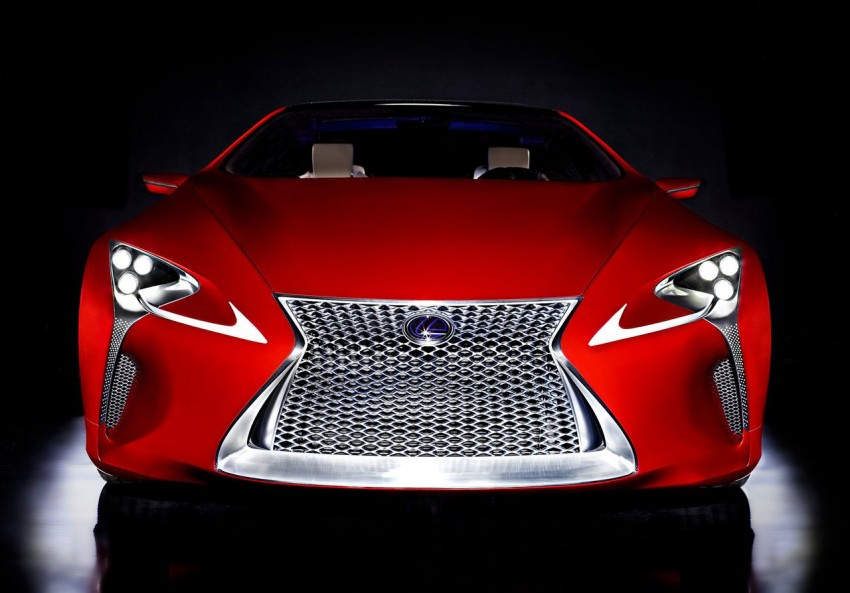 Lexus LF-LC Concept fully revealed, and it's spectacular! Image #83150