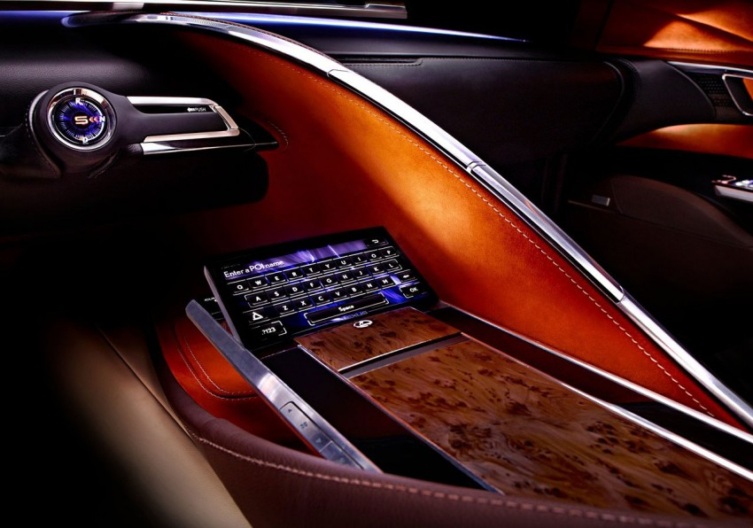 Lexus LF-LC Concept fully revealed, and it's spectacular! Image #83152