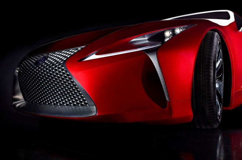 Lexus LF-LC Concept fully revealed, and it's spectacular! Image #83165