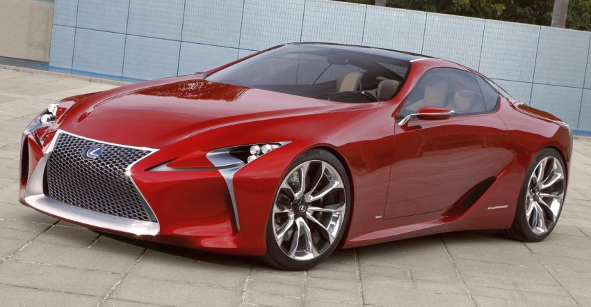 Lexus LF-LC Concept is the fairest of them all in Detroit Image #84044