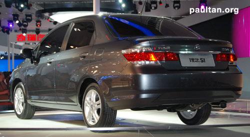 GALLERY: New Li Nian Everus S1 is the old Honda City Image #48562