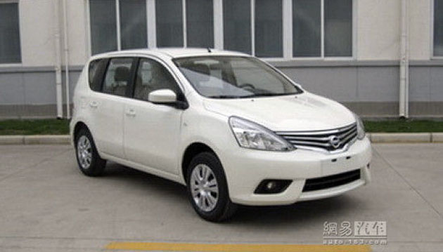 Facelifted 2013 Nissan Livina spotted in China Image #145565