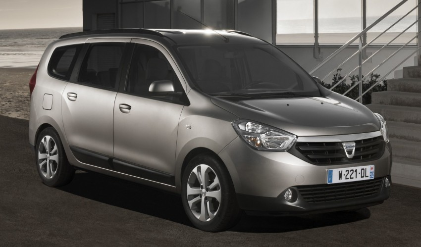 Dacia Lodgy – seven-seater touts space on the cheap Image #100773