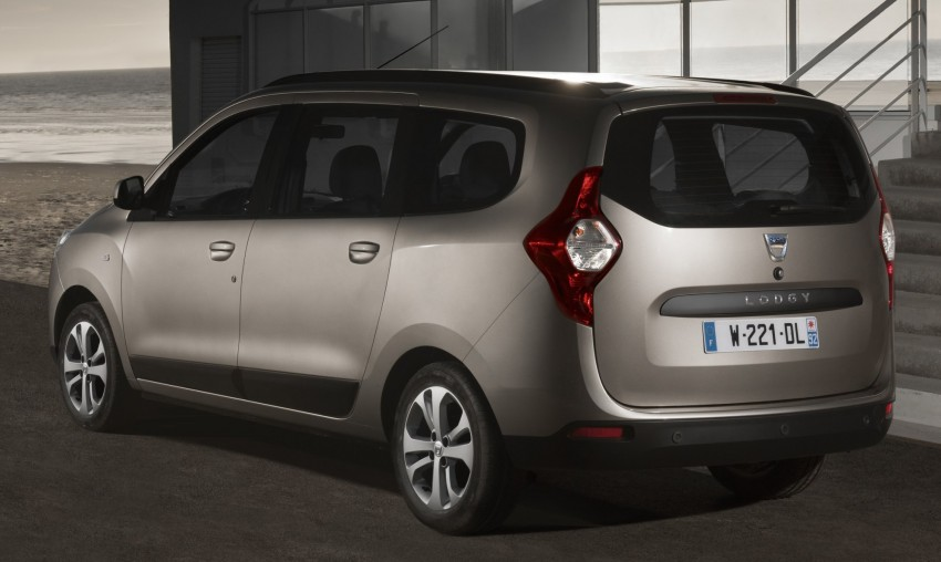 Dacia Lodgy – seven-seater touts space on the cheap Image #100772
