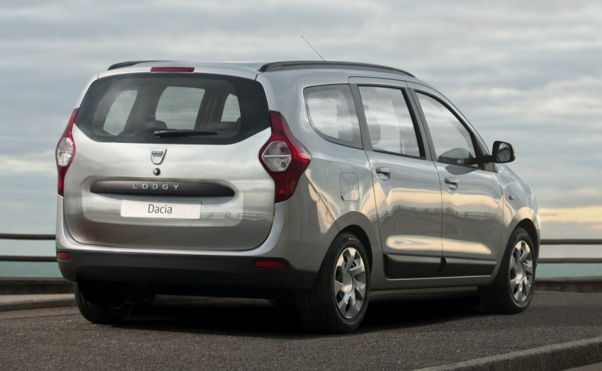 Dacia Lodgy – seven-seater touts space on the cheap Image #100771