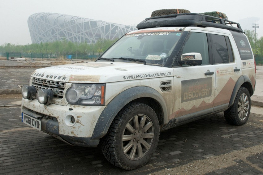 Land Rover Discovery drives from UK to China for charity Image #102863