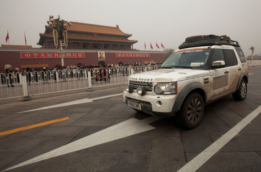Land Rover Discovery drives from UK to China for charity Image #102868