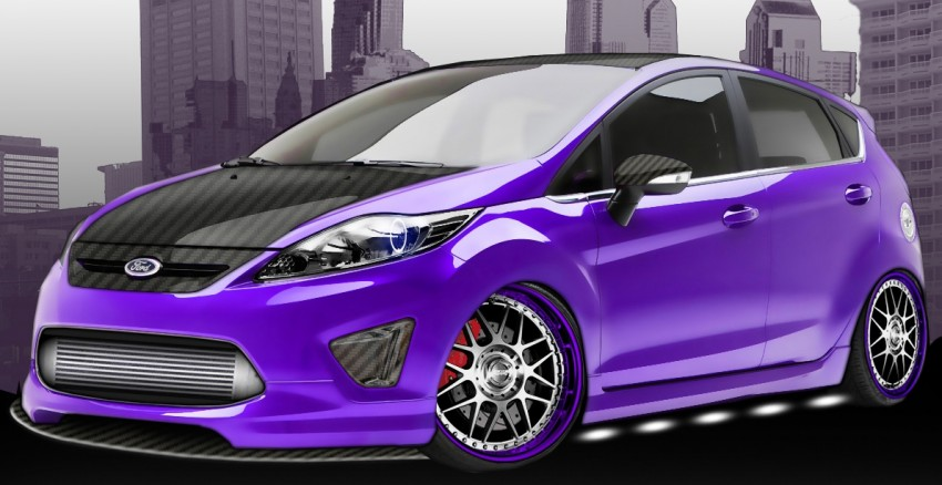 Ford Fiesta – a trio gets reworked for SEMA Image #75394