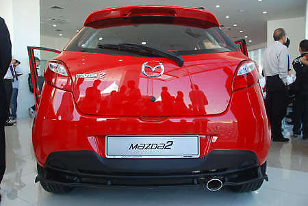Mazda 2 launched: sedan and hatchback, RM80K to RM85K! Image #24908