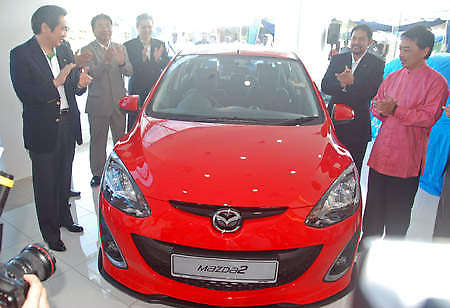 Mazda 2 launched: sedan and hatchback, RM80K to RM85K! Image #24906