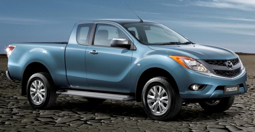 Mazda BT-50 pick-up truck sighted at Westport Image #114000