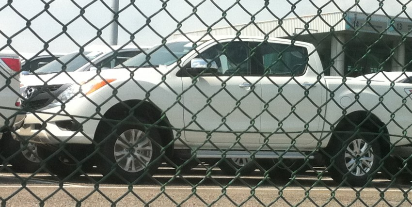 Mazda BT-50 pick-up truck sighted at Westport Image #113990
