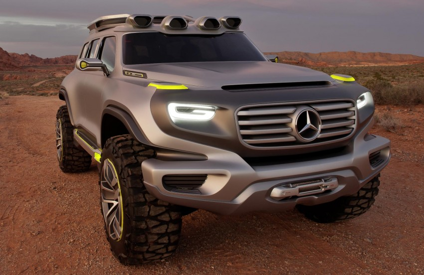 Mercedes-Benz Ener-G-Force – all buffed up for 2025 Image #142017
