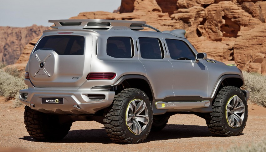 Mercedes-Benz Ener-G-Force – all buffed up for 2025 Image #141985