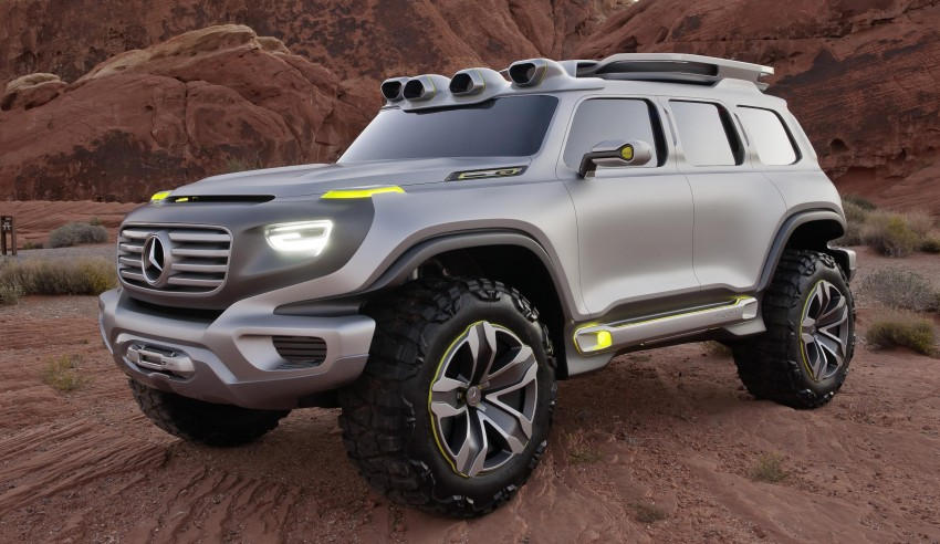 Mercedes-Benz Ener-G-Force – all buffed up for 2025 Image #141983