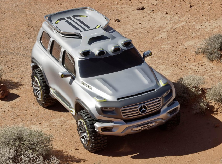 Mercedes-Benz Ener-G-Force – all buffed up for 2025 Image #141980