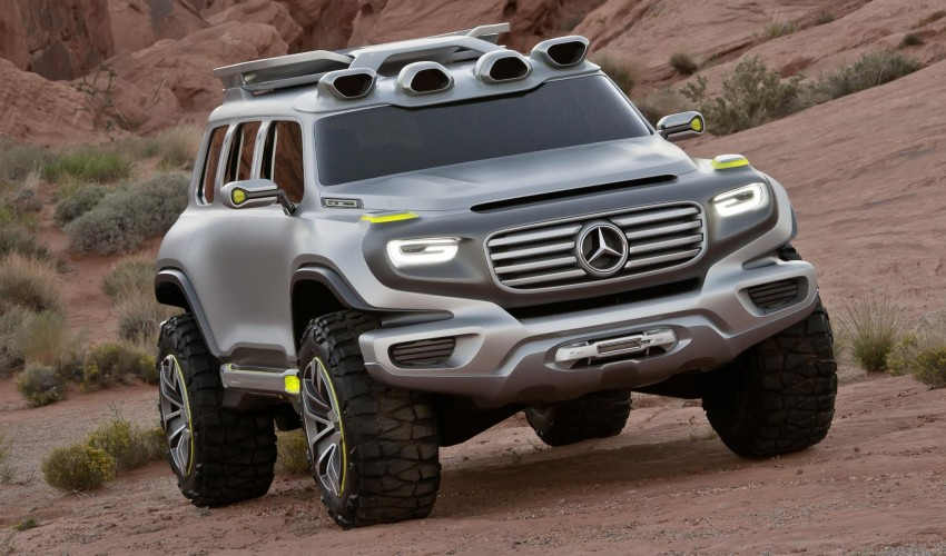 Mercedes-Benz Ener-G-Force – all buffed up for 2025 Image #141978