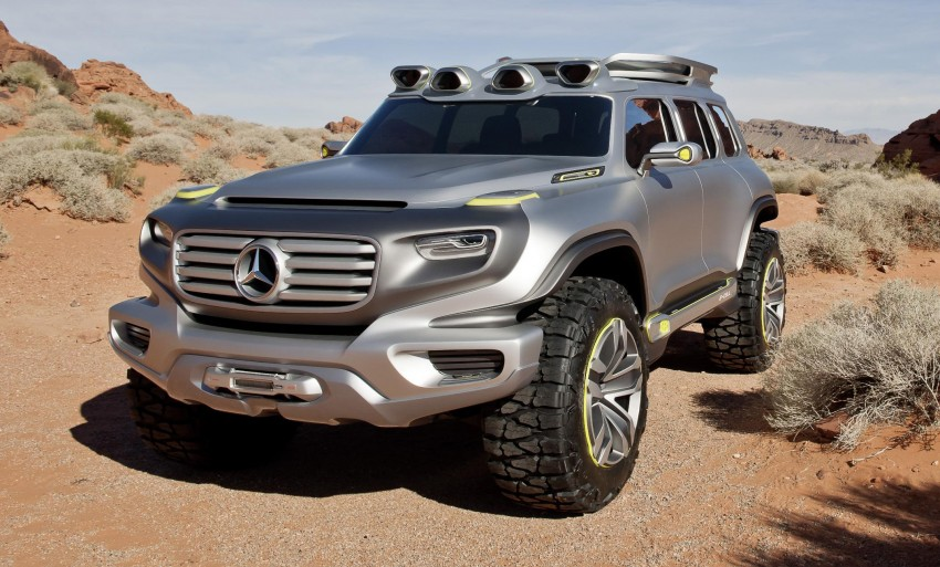 Mercedes-Benz Ener-G-Force – all buffed up for 2025 Image #141976