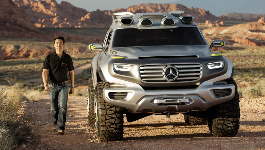 Mercedes-Benz Ener-G-Force – all buffed up for 2025 Image #141970
