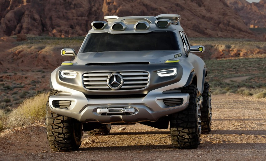 Mercedes-Benz Ener-G-Force – all buffed up for 2025 Image #141966