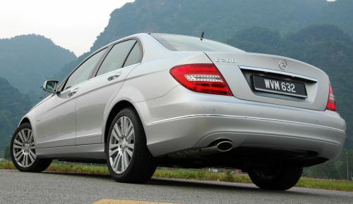 Mercedes-Benz C-Class W204 facelift arrives in Malaysia - C200 CGI