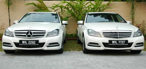 mercedes-benz c-class w204 facelift arrives in malaysia - c200 cgi