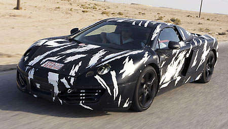 McLaren MP4-12C Testing in Bahrain