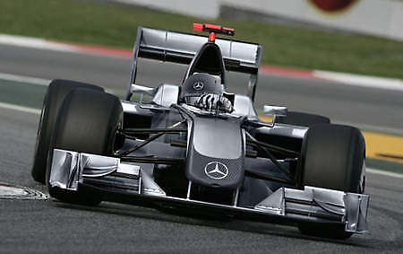 Mercedes GP F1 Car