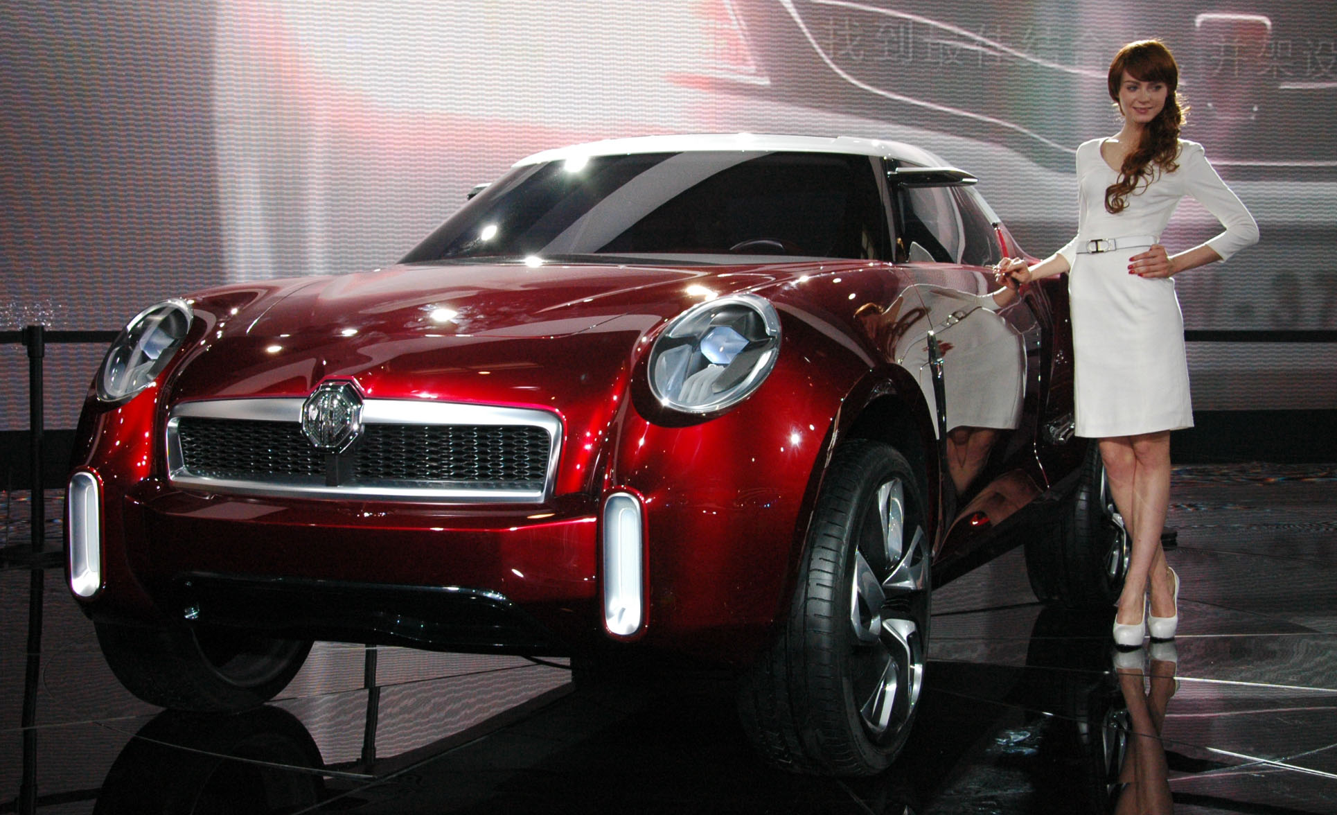 Mg Icon Suv Concept Inspired By The Brand S Past Glories