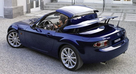 mazda mx 5 miata power retractable hard top. Black Bedroom Furniture Sets. Home Design Ideas