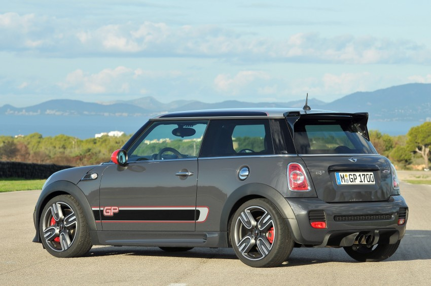 MINI John Cooper Works GP, the fastest MINI ever Image #140839