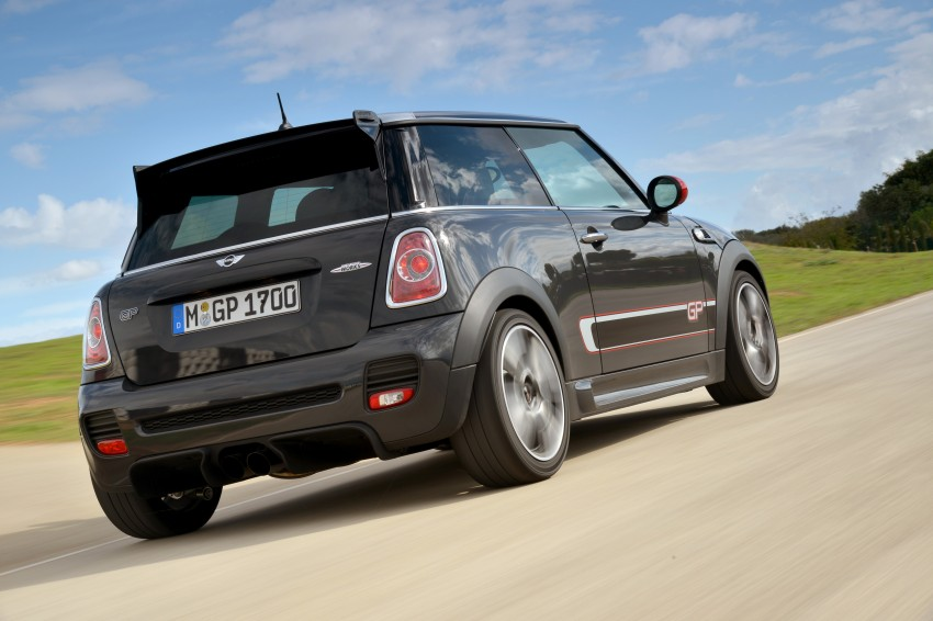 MINI John Cooper Works GP, the fastest MINI ever Image #140875