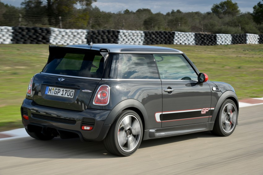 MINI John Cooper Works GP, the fastest MINI ever Image #140877