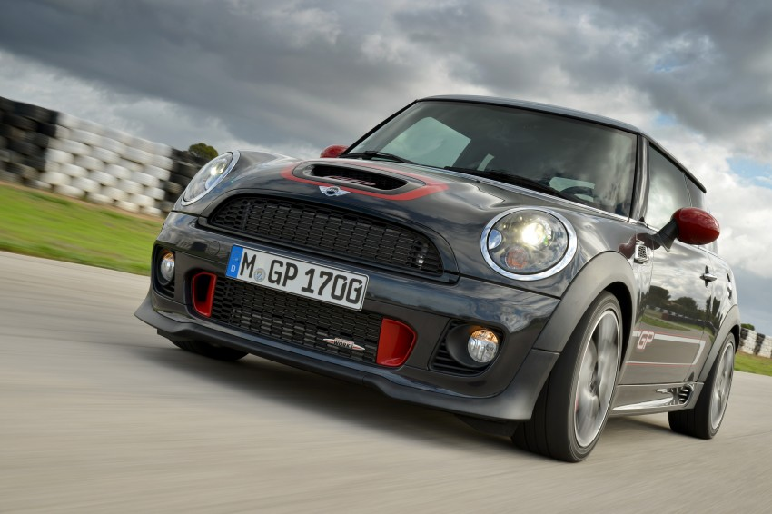 MINI John Cooper Works GP, the fastest MINI ever Image #140885
