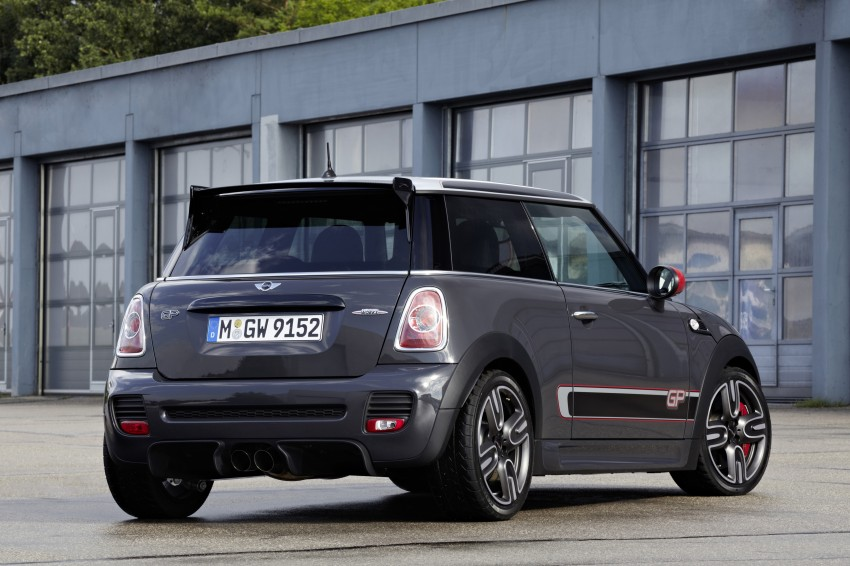 MINI John Cooper Works GP, the fastest MINI ever Image #140936