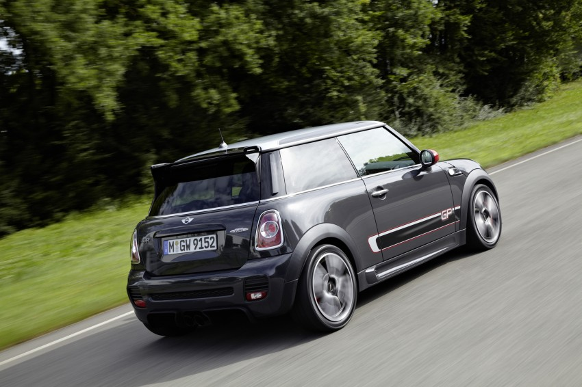 MINI John Cooper Works GP, the fastest MINI ever Image #140981
