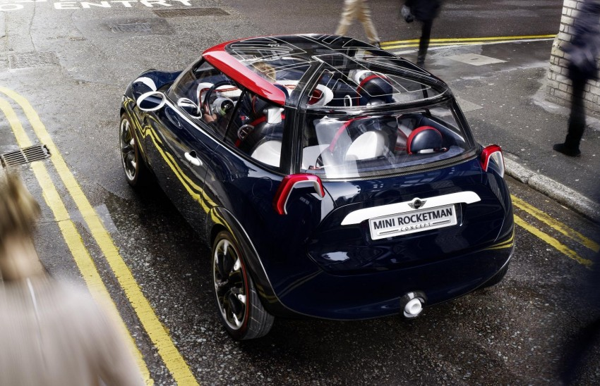 MINI Rocketman Concept gets a new look for Olympics Image #112864