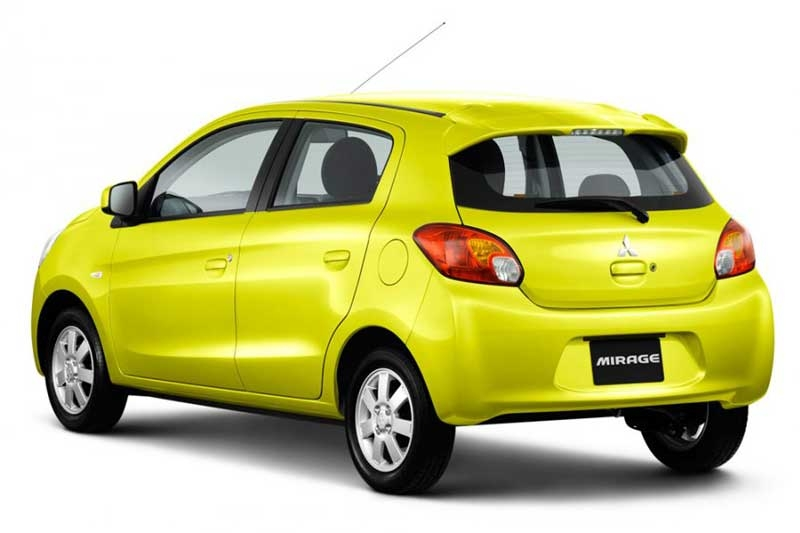 Mitsubishi Mirage to begin selling in Thailand end-March Image #94612