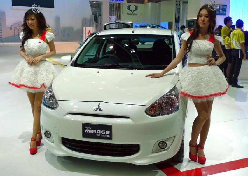 Mitsubishi Motors Thailand to export the Mirage to Japan Image #103858