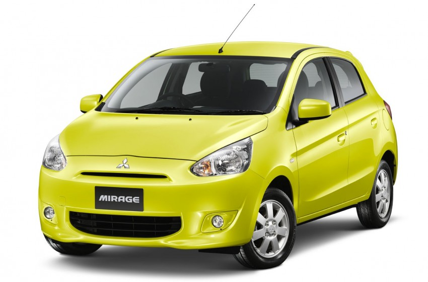 Mitsubishi Mirage to begin selling in Thailand end-March Image #94611
