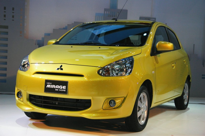 Mitsubishi Mirage debuts in Bangkok – five variants in all Image #96274